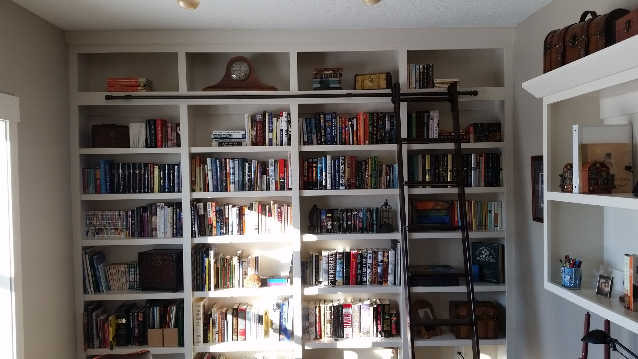 Custom Book case, Central Iowa, Des Moines Builders