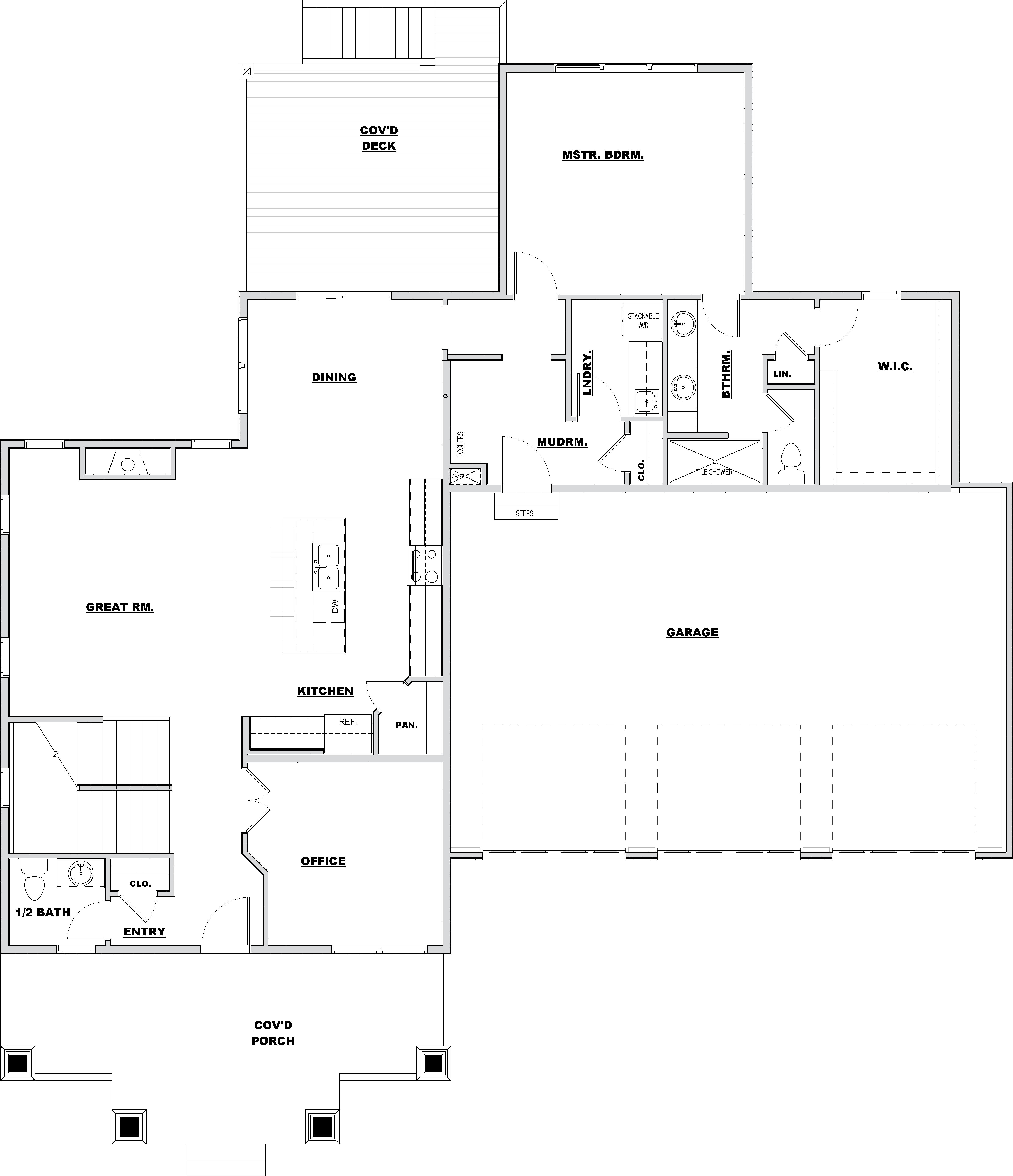 Colorado, Main Floor