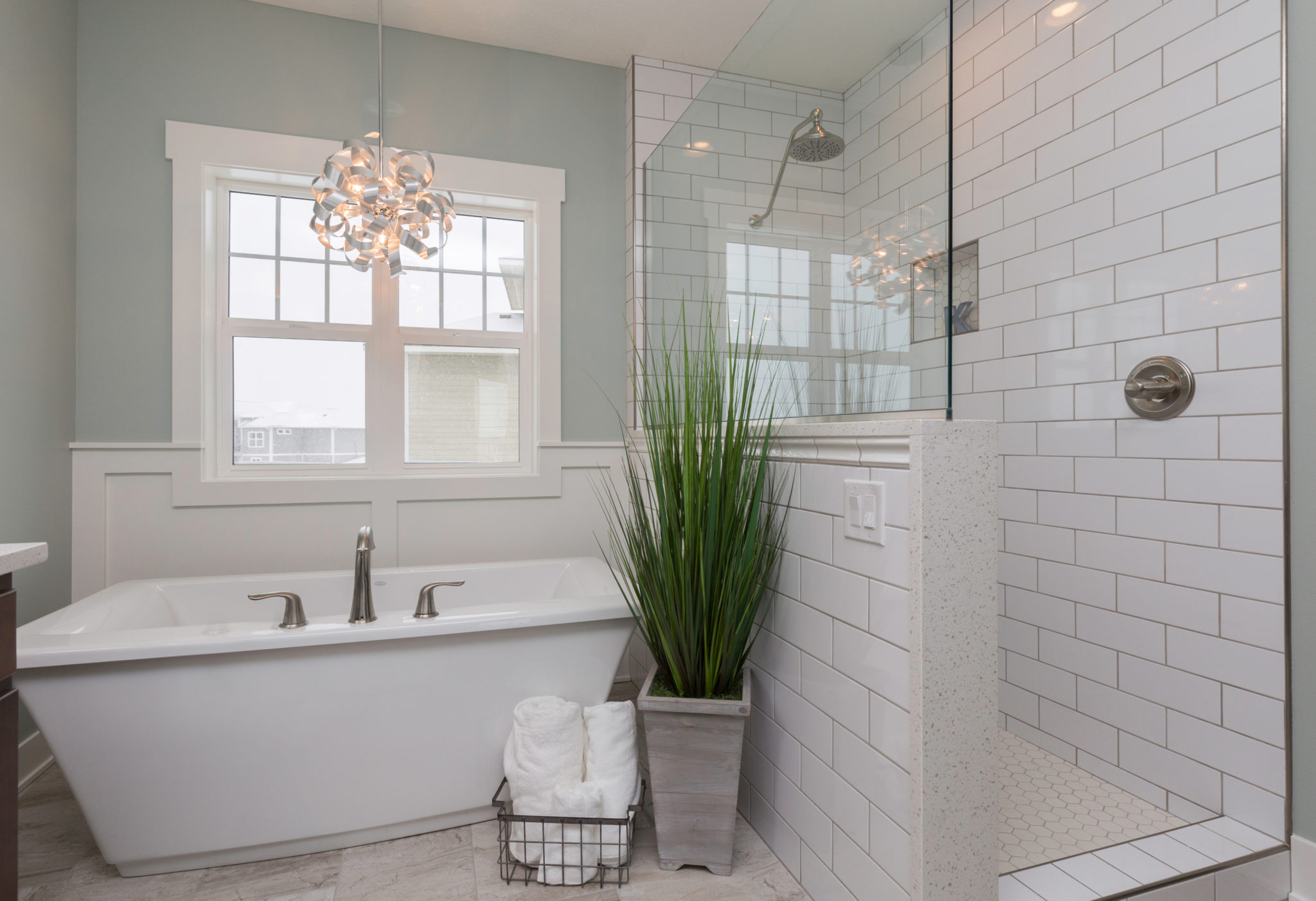Beautiful bathrooms, Soaker tub, Des Moines bathroom renovations, Central Iowa custom home builders